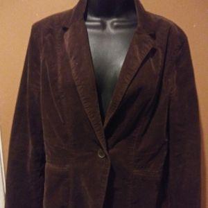 Calvin Klein Brown Jacket Size Medium